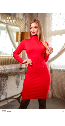 8330 Monic ruha piros