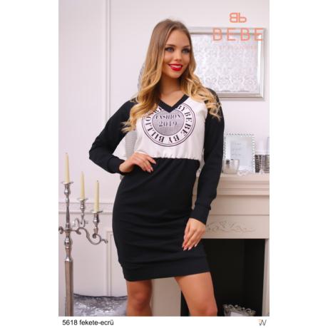 ruha 5618 fekete-ecrü