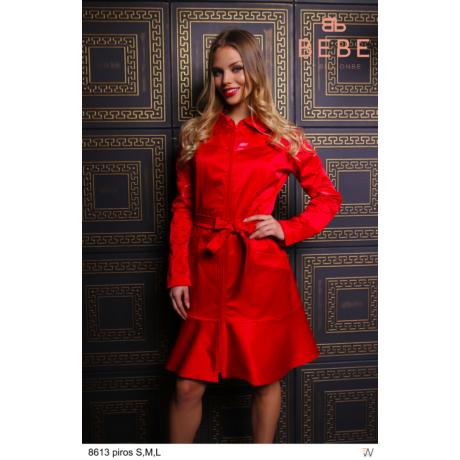 kabát 8613 piros