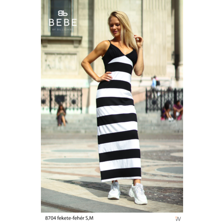 ruha 8704 fekete-fehér