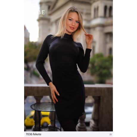 Szibill ruha 7036 fekete