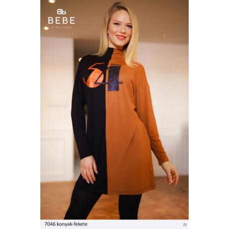 ruha 7046 konyak-fekete