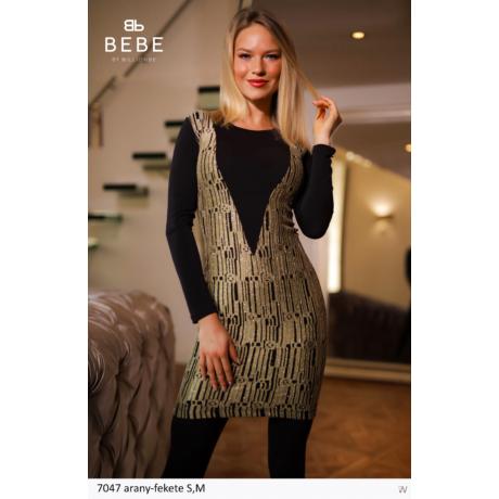 ruha 7047 arany-fekete
