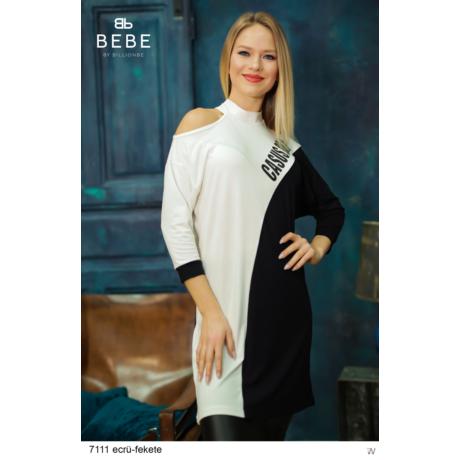 ruha 7111 Rebeka ecrü-fekete
