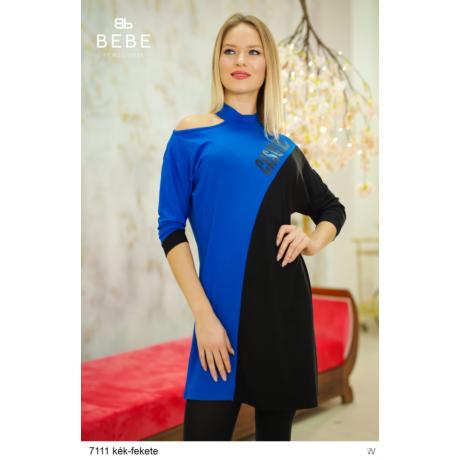 ruha 7111 Rebeka kék-fekete