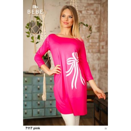 7117 Mása tunika pink