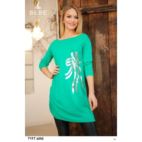 7117 Mása tunika zöld