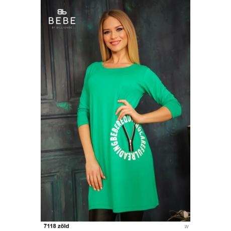 7118 Karina tunika zöld