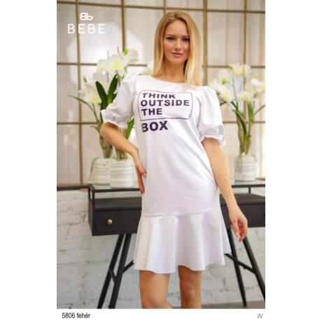 5806 Nina ruha fehér