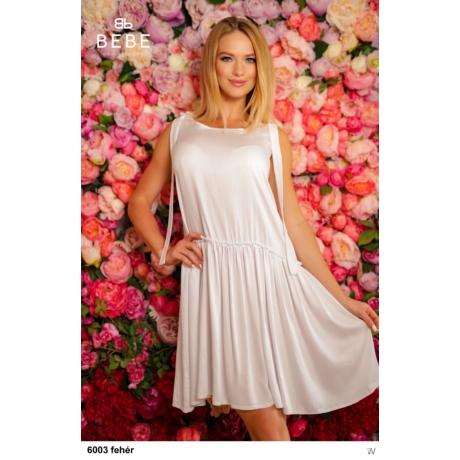 6003 Silky ruha fehér