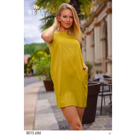 6013 Elena ruha zöld