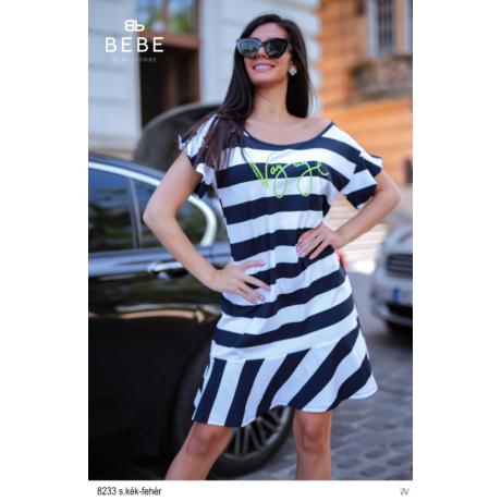 8233 Bella ruha s.kék-fehér