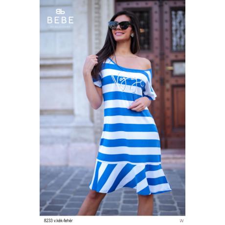 8233 Bella ruha v.kék-fehér