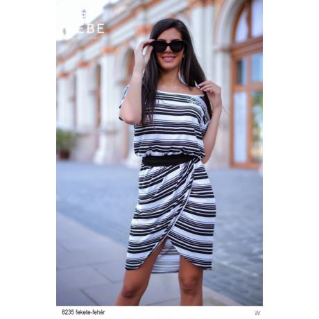 8235 Frida ruha fekete-fehér