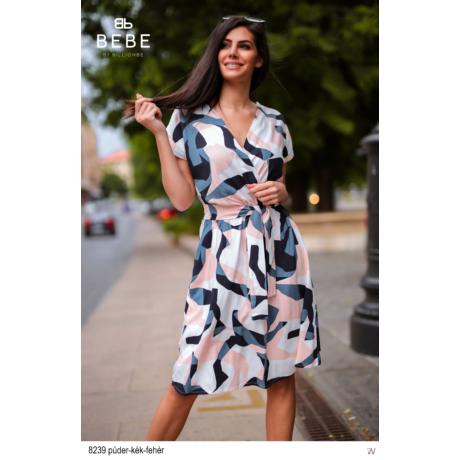 8239 Eliza ruha púder-kék-fehér