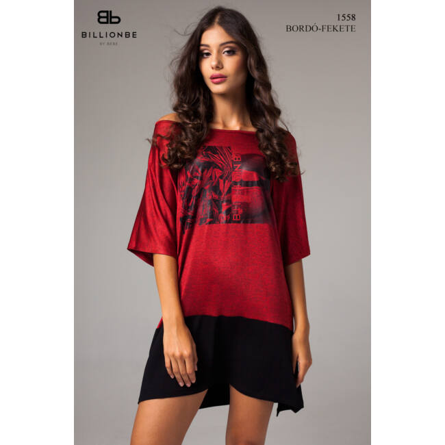 ruha 1558 bordó-fekete