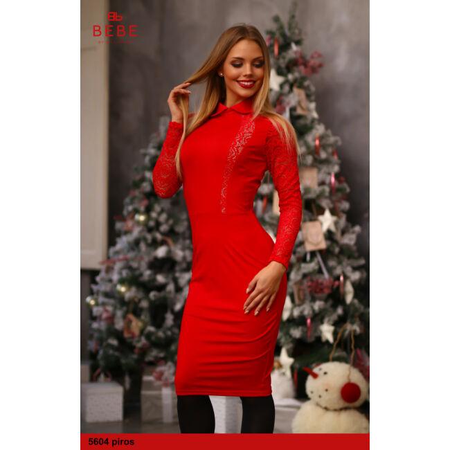 a ruha 5604 piros