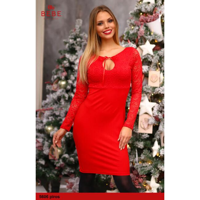 a ruha 5606 piros