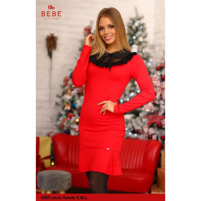 a ruha 8585 piros-fekete