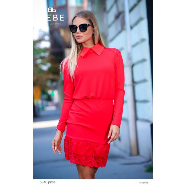 ruha 5516 piros