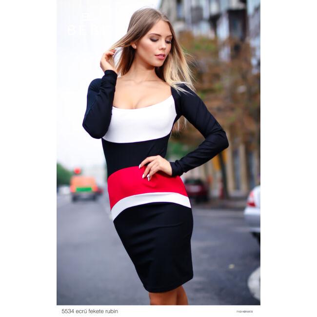 ruha 5534 ecrü-fekete-rubin