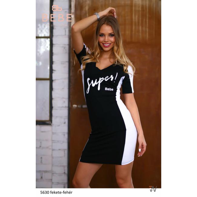 ruha 5630 fekete-fehér