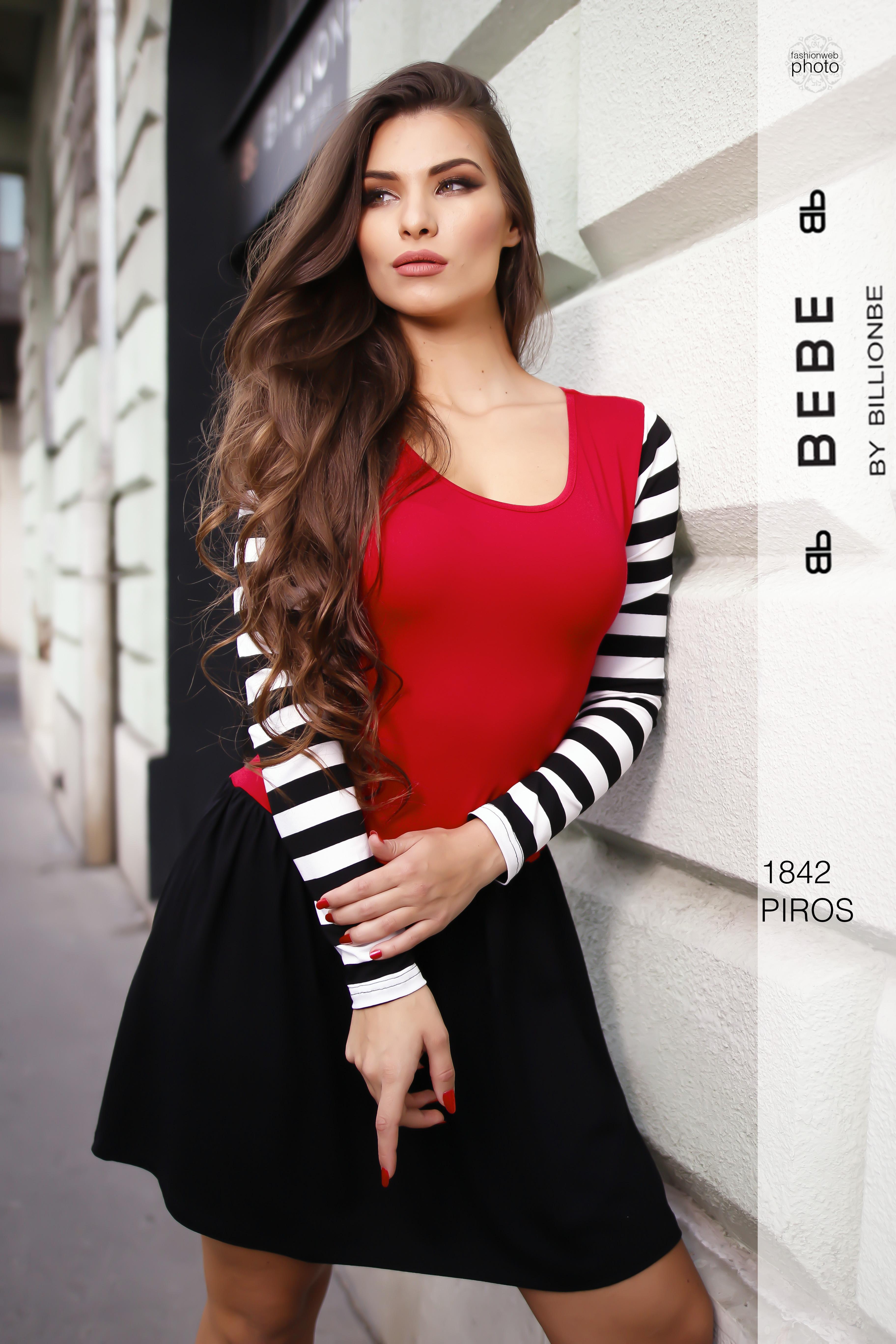 a80b461714 ruha 1842 piros - Ruha webáruház, női ruházat - Likefashion
